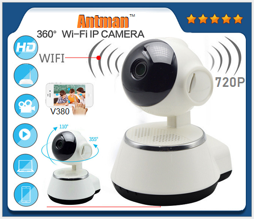 Support Micro TF card 720P P2P IP Home Mini wifi smart net camera v380