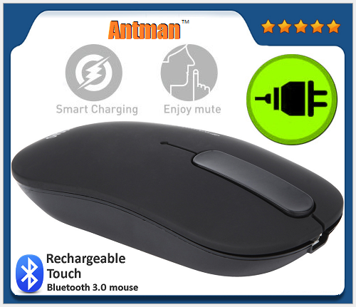 Bluetooth 3.0 mouse with touch scroll wheel mouse