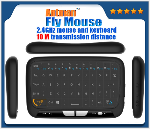 Mini H18 Air Fly Mouse H18 Wireless Keyboard 2.4G Wireless Remote Rontrol for Smart TV