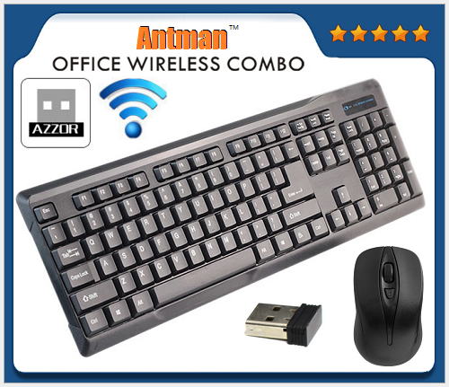 Hot Sale 105 KEYS Portable ABS 2.4G Wireless Mouse And Keyboard Set
