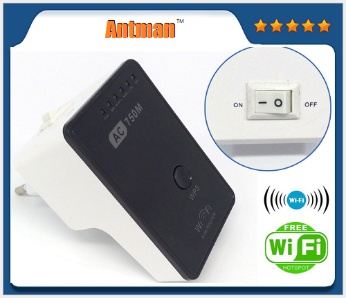 750M Dual Band Wireless AC network wifi Adapter 2.4G+5.8G Wi-Fi repeater
