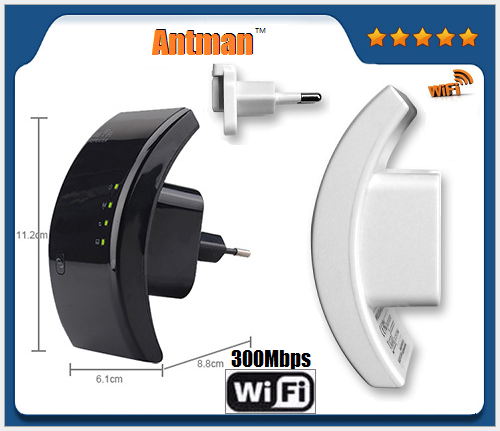 802.11N/G/B WLAN Network Range Mini 300m Wireless WiFi Repeter