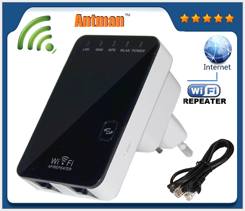 802.11N/G/B WLAN Network Range Mini 300m Wireless WiFi Repeter with UK plug