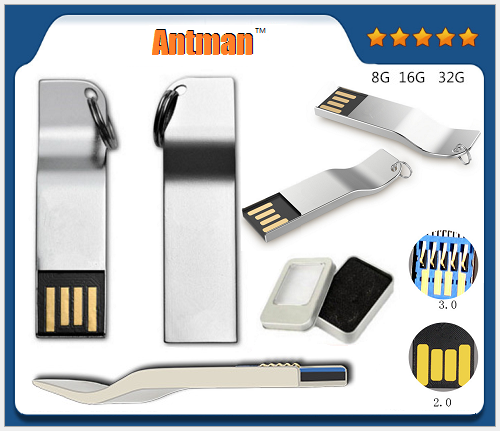 Custom OEM usb stick metal flash drive 2gb 4gb 8gb 16gb 32gb 64gb 128gb