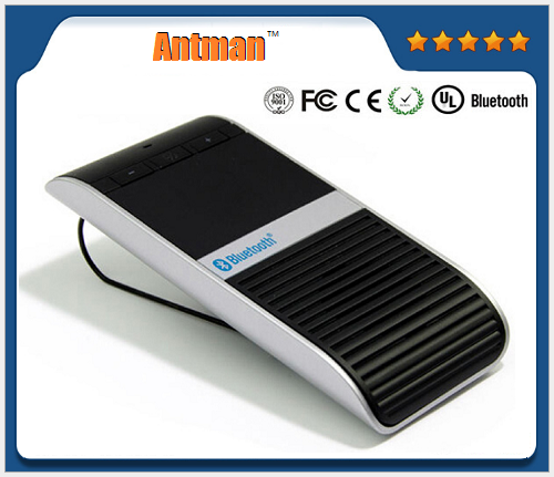 Sun visor bluetooth car kit with solar panel ALD68