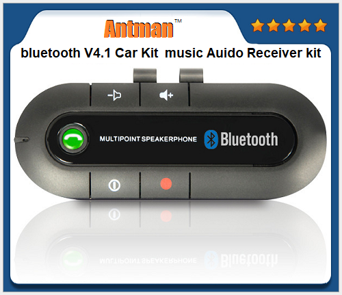 Hot selling style Bluetooth V3.0 BT hands free car kits
