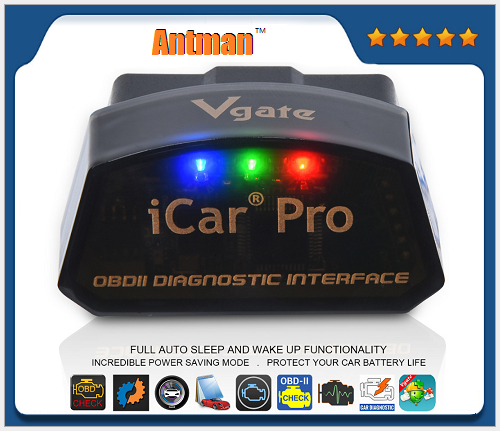 iCar Pro BT 4.0/WIFI Scanner For Android/IOS Car Diagnostic Tool With Reads the Real-time Car Engine Data ELM327 V2.1