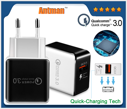 Quick Charge QC 3.0 Fast USB Charger Universal wall charger adapter