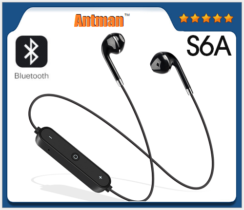 Cheapest S6A Bluetooth V4.2 Earphone Wireless Headset