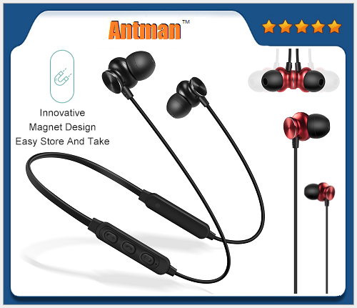 Cheapest S12 Bluetooth V4.2 Earphone Wireless Magnetic Headset