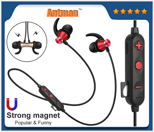 S17C Bluetooth V4.2 Earphone Wireless Magnetic Headset