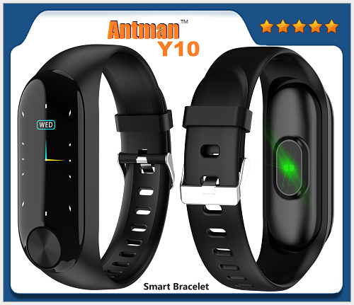 Y10 Heart Rate Monitor Sleep Monitoring Call Notification Standard Motor function Smart bracelet