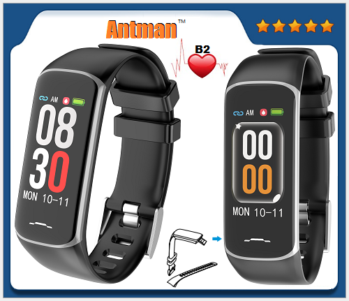 Fashion Healthy Smart Band Fitness Bracelet Tracker B2 Smart Bracelet BT4.0