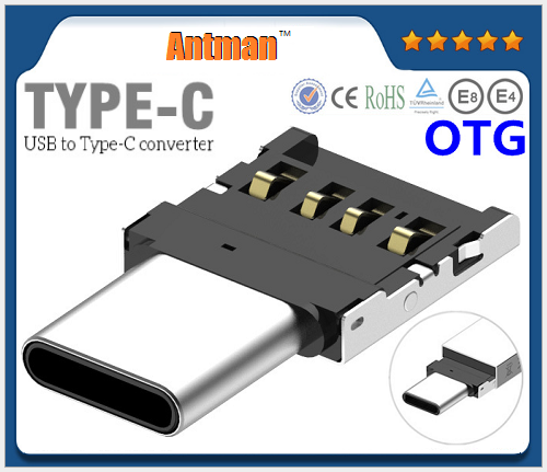 High quality Mini USB 3.0 OTG Type-C Adapter Multi Function for Android Converter Adapter